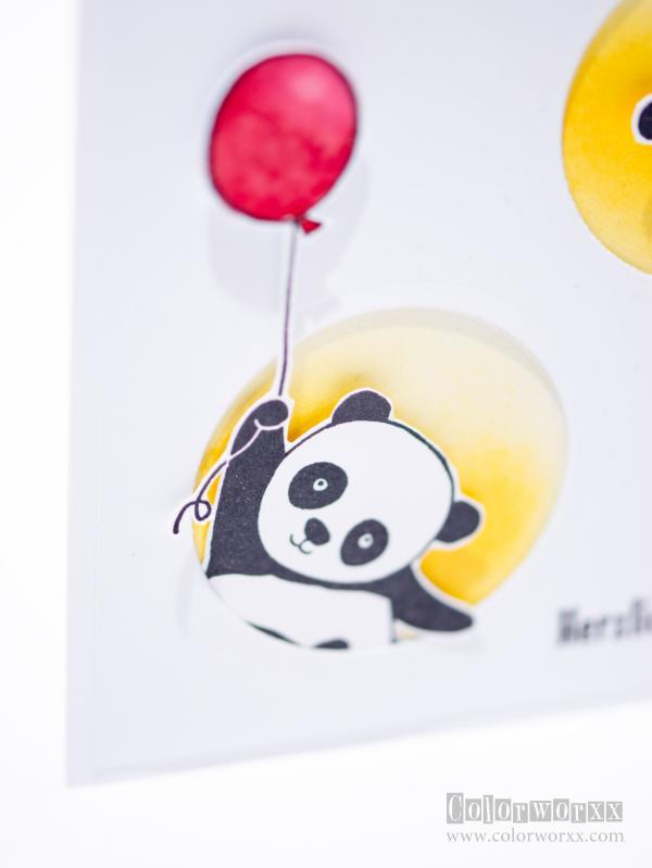 Party-Pandas von Stampin Up