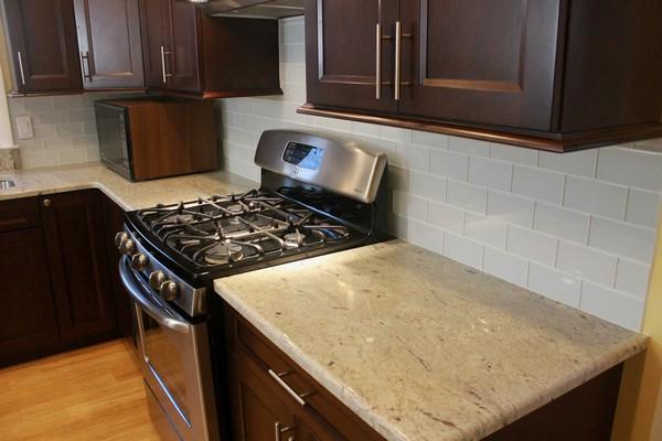 Colossus Granite  Marble Inc 3cm River White Granite Kitchen  Colossus Granite  Marble Inc