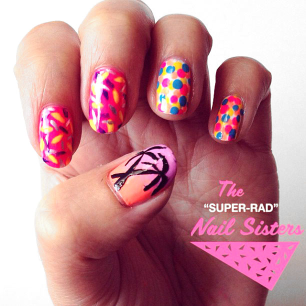 The Super Rad Nail Sisters Have An Upcoming Nail Art