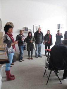 Torika Bolatagici Communtiy Reading Room, On Foot Art Crawl, Colour Box Studio, Footscray, Melbourne