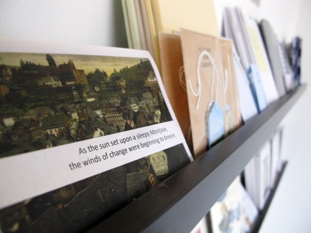 Colour Box Studio Pop Up Book Shop - Artist Lizzy Sampson 02