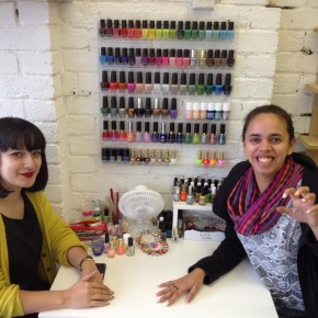 Super Rad Nail Sisters Colour Box Studio Visit