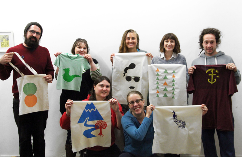 Learn to Screen Print - One Day Short Course with Liz Doust at Colour Box Studio