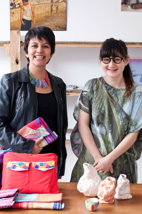 Paty Galán of Deer & Pato and Annabelle of Paradise Structures will be participating in the Colour Box Studio Summer Pop Up Shop from 9 November. Photo by Kristina Arnott.