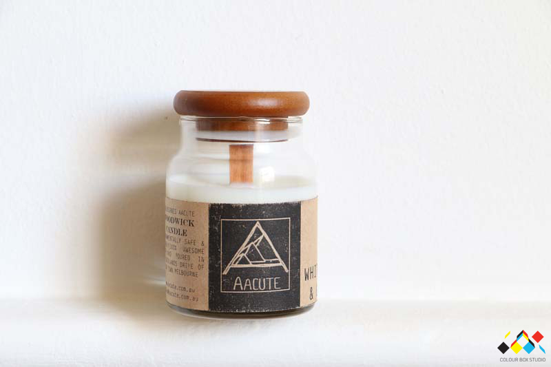Aacute Soy Candle (Wood Wick)