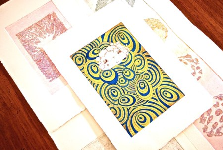 Printmaking - Introduction to Etching with Lucy Buxton. Colour Box Studio Workshop