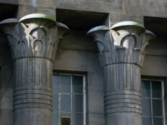 Temple works. Detail