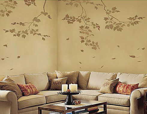 Stencil Painting: A Perfect Way to make your Home Unique ...