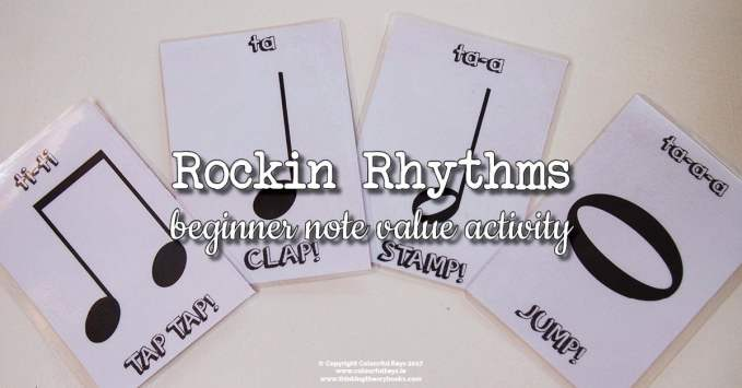 Rockin' Rhythms – Introducing Note Values with Jumping and Stamping