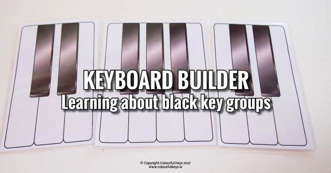 Piano Builder – Seeing Black Key Patterns
