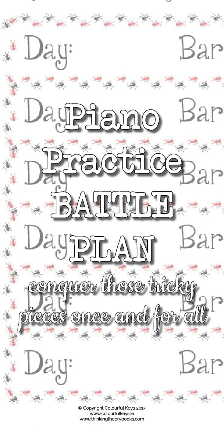 Create a Battle Plan and Conquer that Tricky Piano Piece