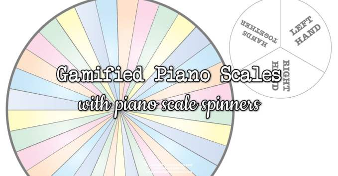 DIY Piano Scale Spinners – Full Assembly Instructions