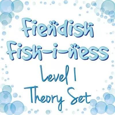fiendish fishiness level 1 music theory set