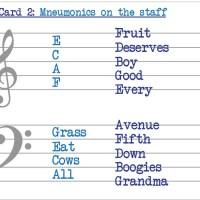 Fiendish Fishiness Flashcards: Key Card 2