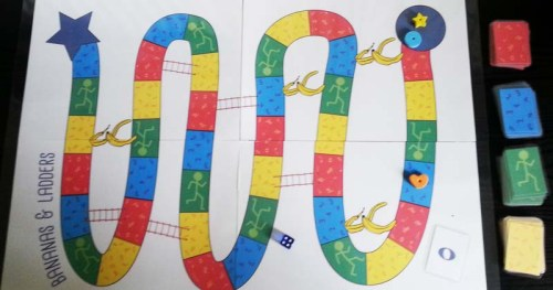 bananas and ladders full board