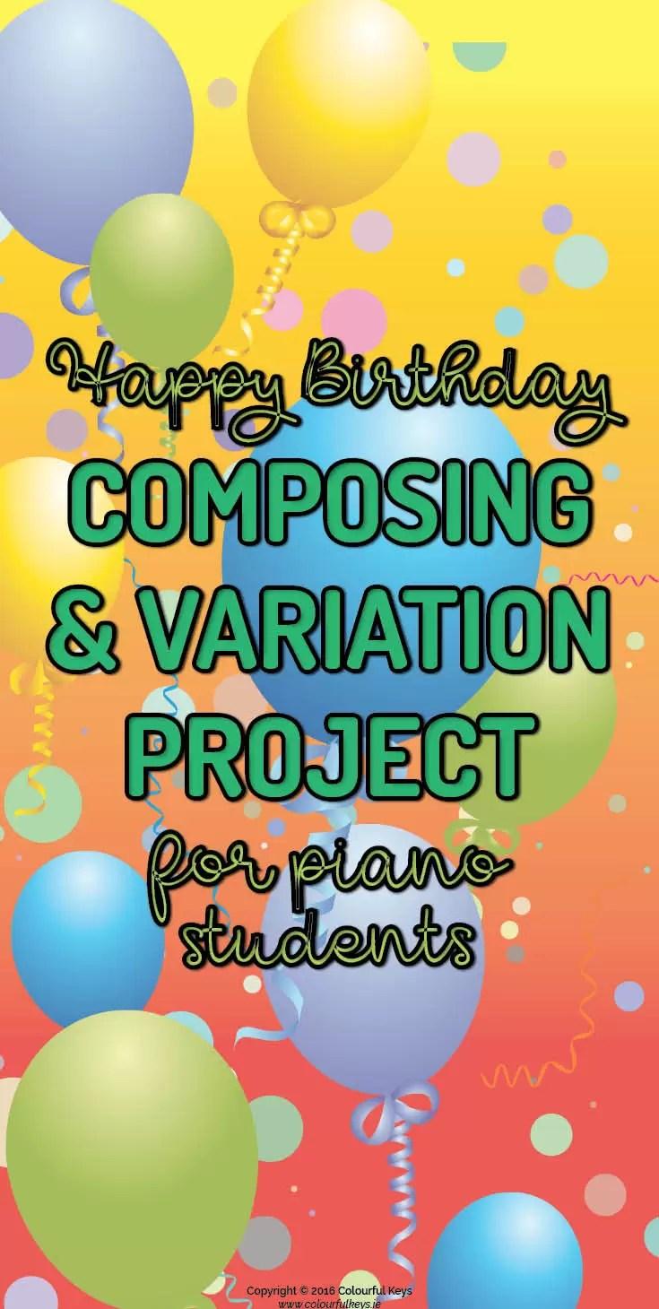 Happy Birthday Variation Project