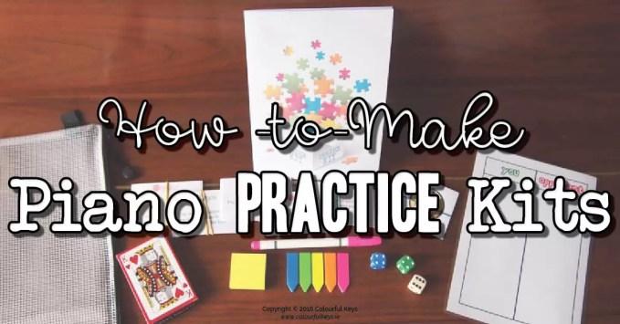 Piano Practice Kits – Efficient Practice Gamefied