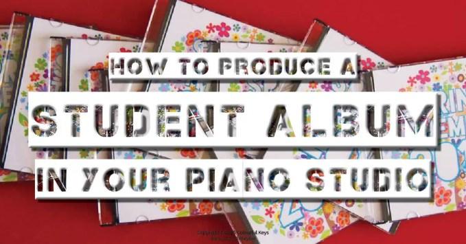 The Piano Studio Album – Spring Themes 2016