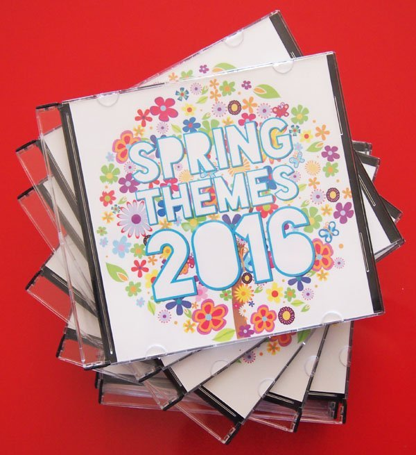 Spring Themes CDs