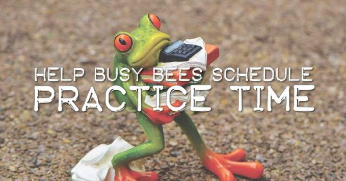 How to Help Your Busiest Bees Plan Piano Practice Time