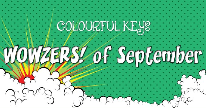 WOWZERS of the September – Favourite Piano Teaching Resources this Month