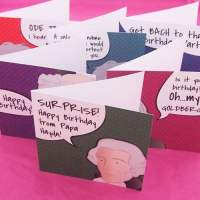 Music composers birthday cards
