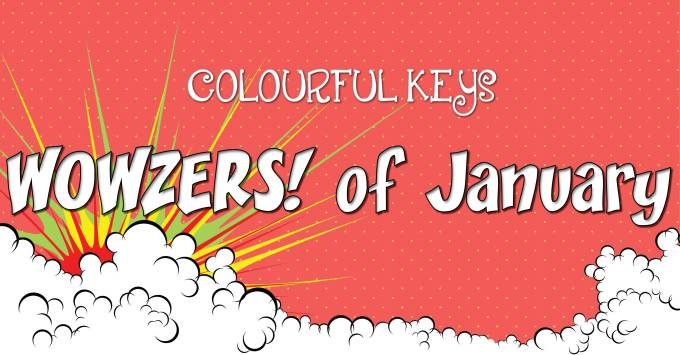 January WOWZERS – Soft Drinks in Piano Lessons, An Oldie, & Yours Truly