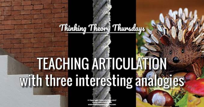 Piano Teaching Analogies and Musical Metaphors for Articulation