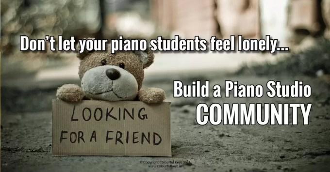 how to build piano studio community2