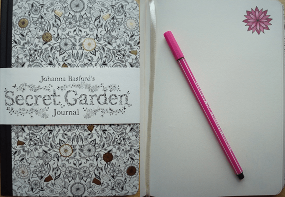 Secret Garden Journal A Review Colouring In The Midst Of Madness