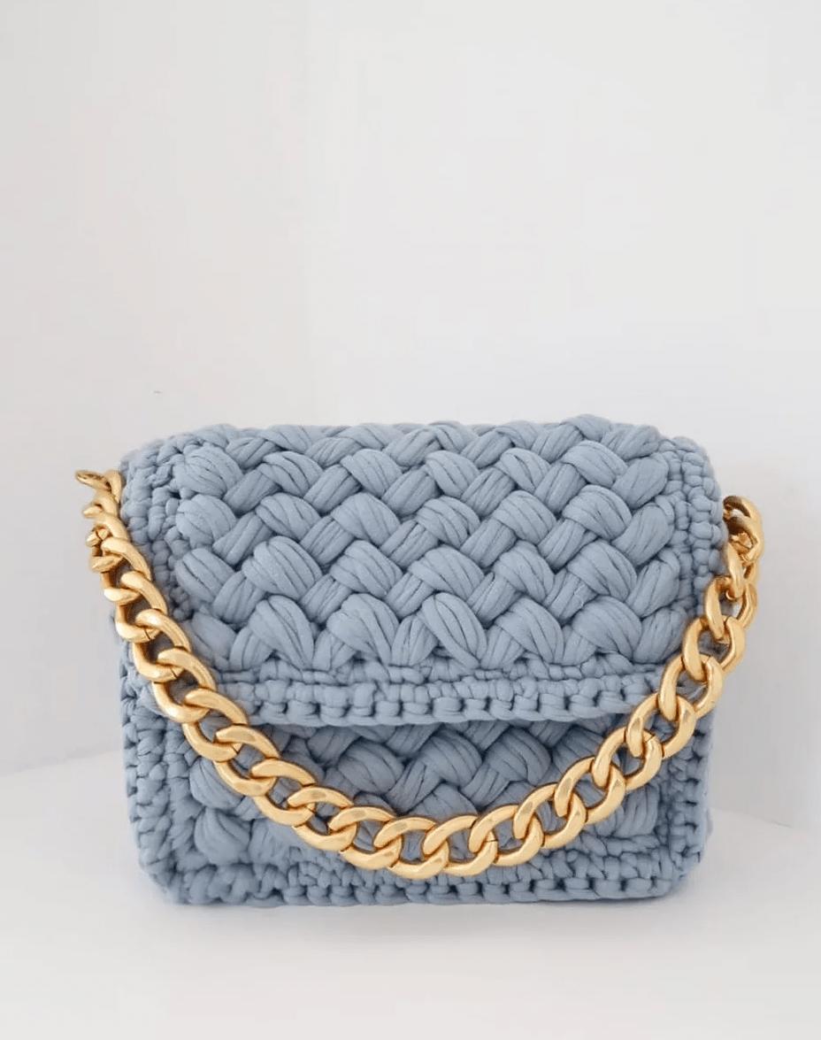 SLAVIC ATELIER blue bag