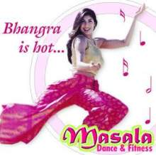 Masala Bhangra 1 - the 'look' created by Sarina and Cottage Art