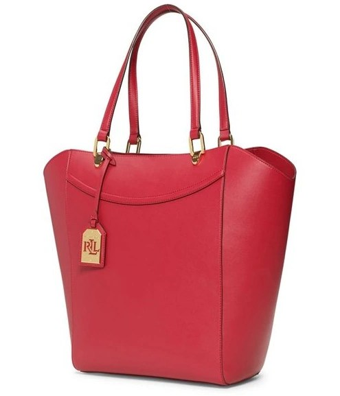 Ralph Lauren Womens Lexington Tote