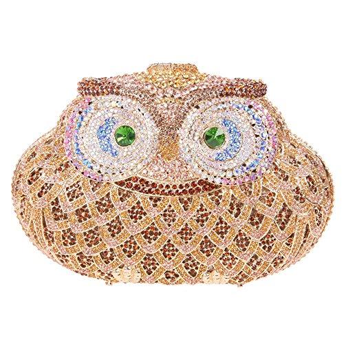 c008e6a6167 Fawziya® Owl Purse For Women Luxury Rhinestone Crystal Evening Clutch Bags