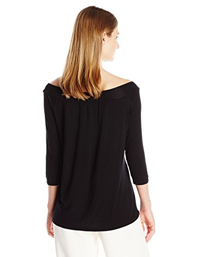 Women's Jersey Lycra Off Shoulder Top by Michael Stars