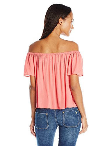 Women's Sami Rayon Twill Off-The-Shoulder Top by BB Dakota