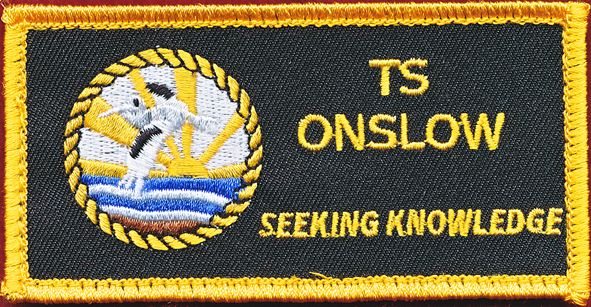 T S ONSLOW patch