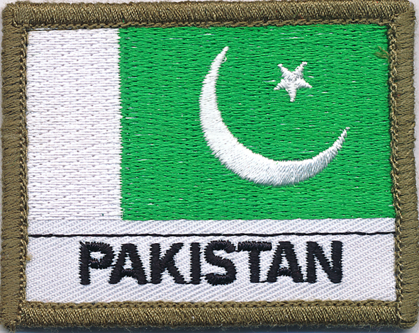 Pakistan Flag Patch  (Shoulder)