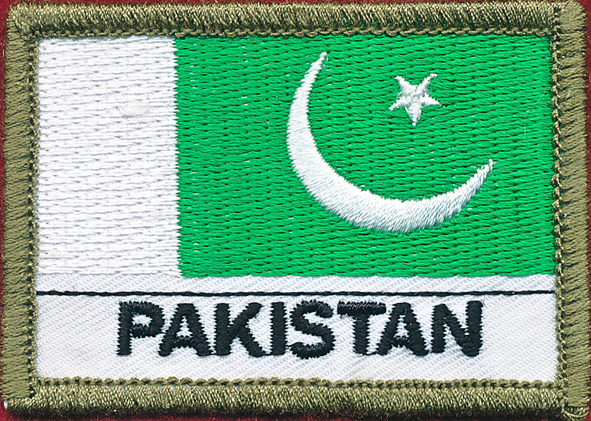 Pakistan Flag Patch - (Polyester)