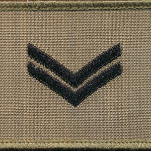 CORPORAL (CPL) - TBAS Field Rank Patch
