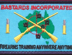 Bastards Incorporated patch
