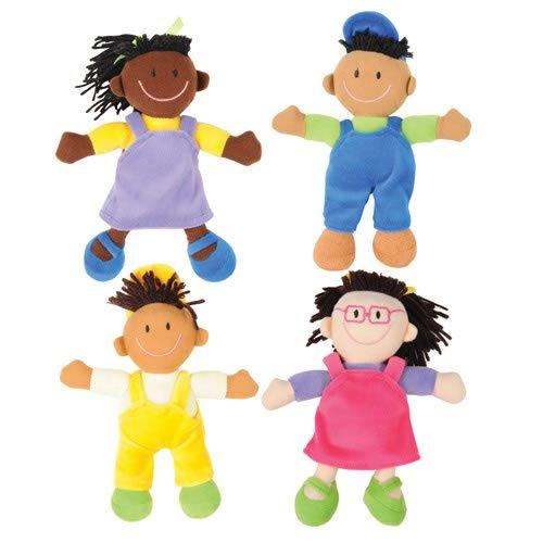 50 Multicultural Dolls Puppets for Children