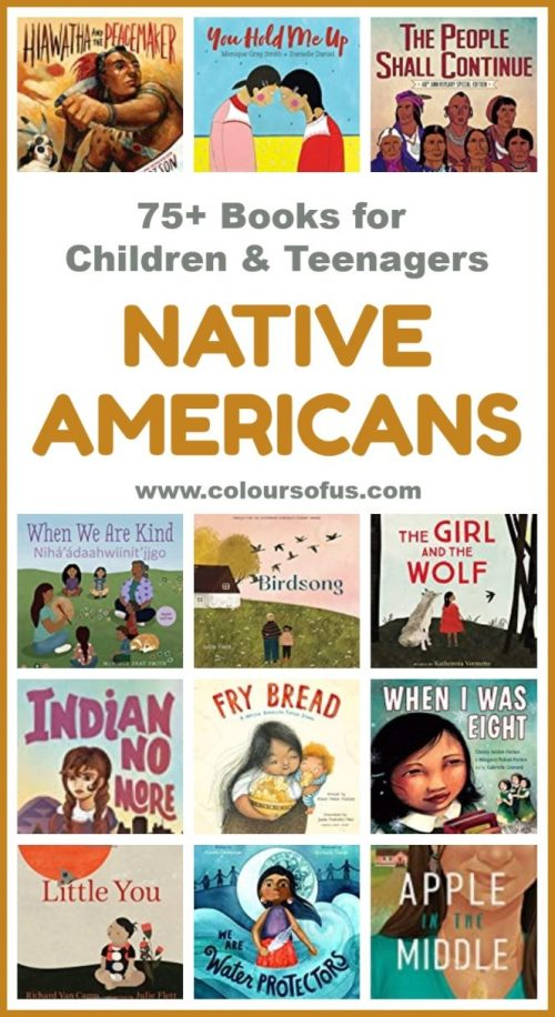 small resolution of 75+ Native American Children's Books   Colours of Us