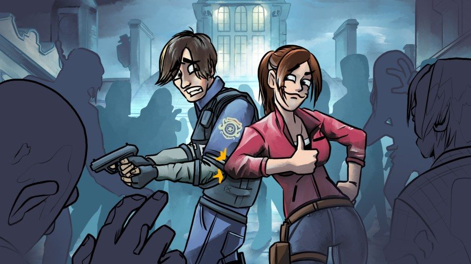Bro Gaming - Resident Evil 2 (colored)