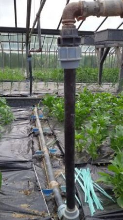 Impianto di irrigazione- esempio di collegamento idrico