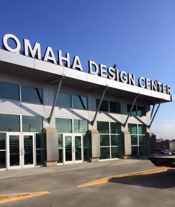 Medium shot of the Omaha Design Center. (Courtesy Omaha Design Center's Facebook Page)