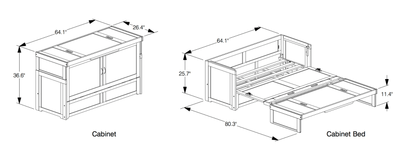 murhpy bed structure