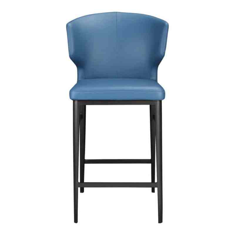 blue counter stool