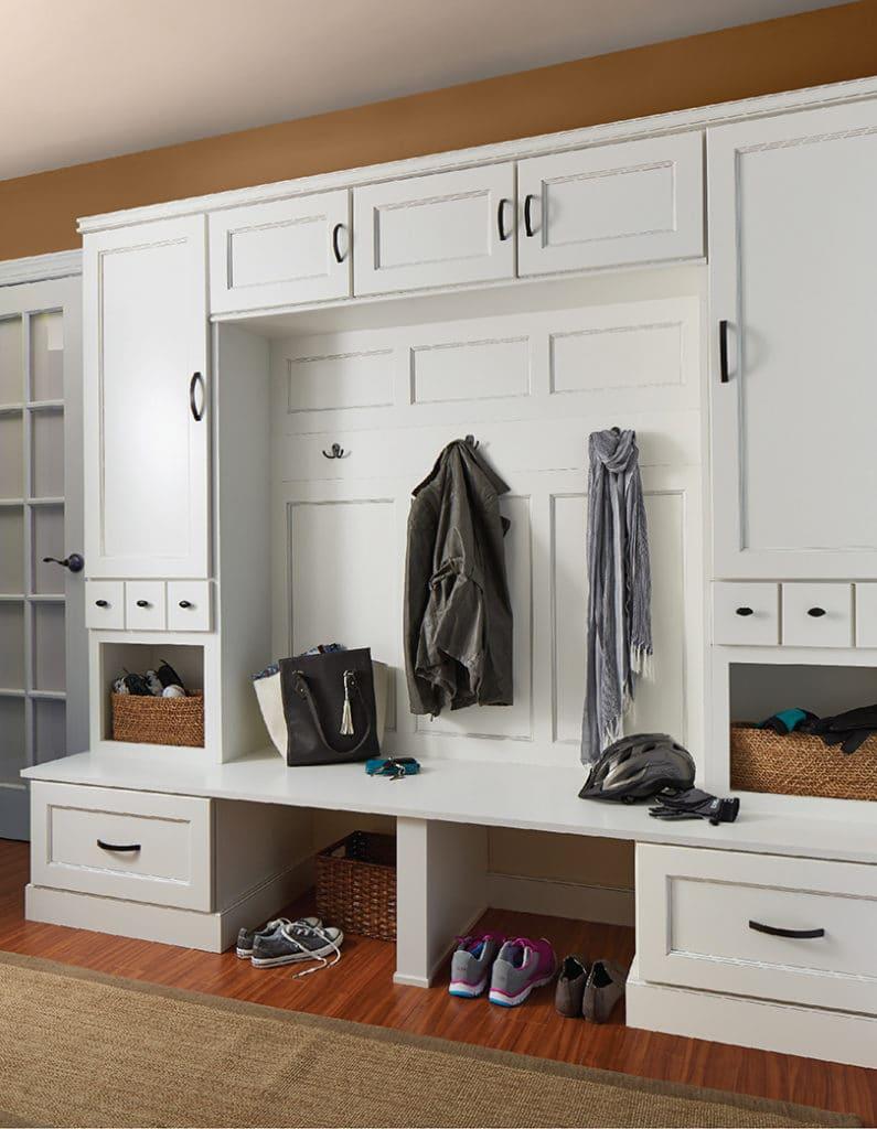 wall cabinet mud room
