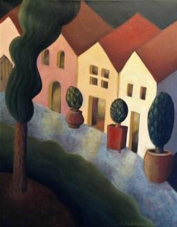 Lori Duckstein | Come, Stay | Acrylic | 16 x 20